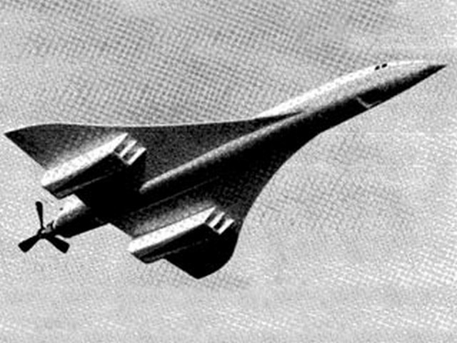 Concorde (oz7979) by KJ Downton from Aeromodeller 1965