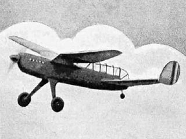 Delanne (oz801) by Doug McHard from Aeromodeller 1952