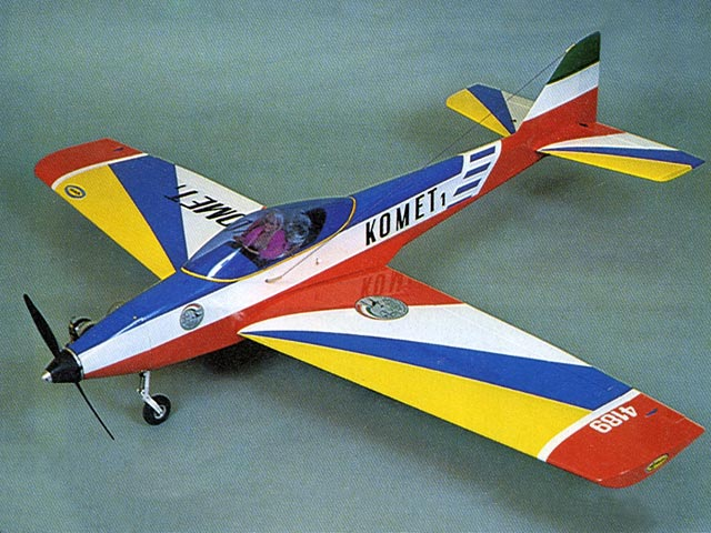 Komet 1 (oz8016) by Benito Bertolani from Modellismo