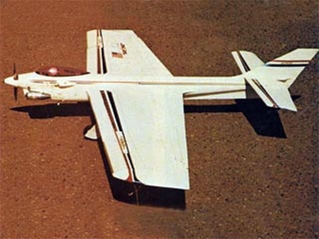 Avenger 35 (oz8023) by Don Shultz from American Aircraft Modeler 1974