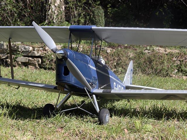 Tiger Moth Electric (oz8059) by Farooq Ahmad