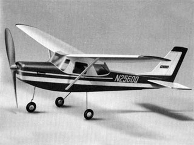 Cessna 150 (oz8061) from Graupner 1970