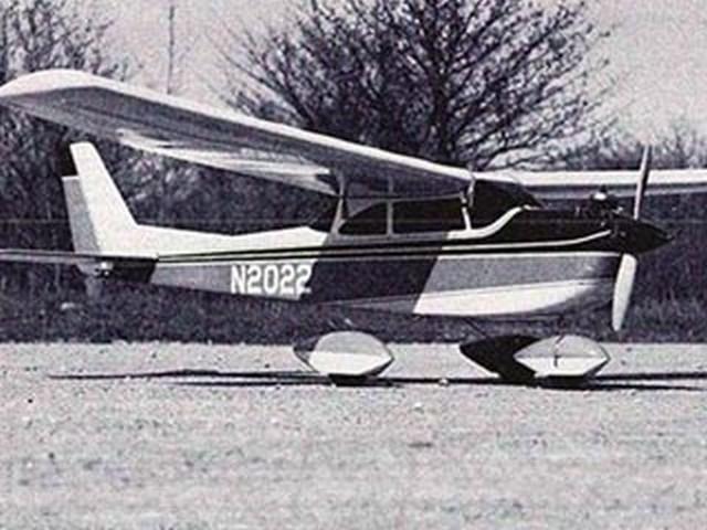 Cessna Skyhawk (oz8064) by R Jess Krieser from RCMplans 1968