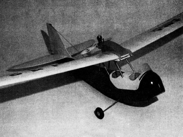 Curtiss-Wright Junior - completed model photo