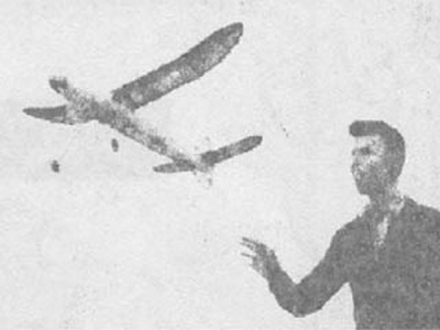 Stratosphere (oz810) by Henry Cole from Model Airplane News 1941