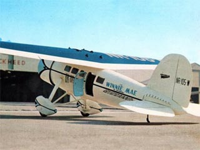Winnie Mae (oz8173) by Monty Groves from American Aircraft Modeler 1970