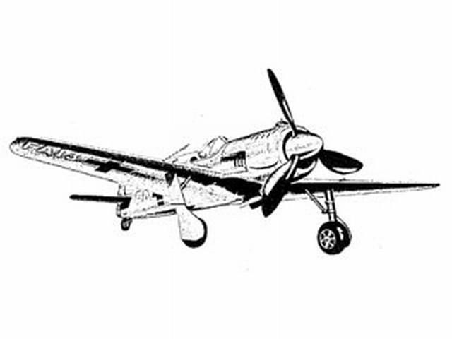 Focke-Wulf 190 (oz8197) by Don McGovern from Berkeley 1959