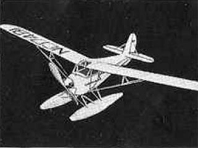 Aeronca K Seaplane (oz82) from Comet 1945