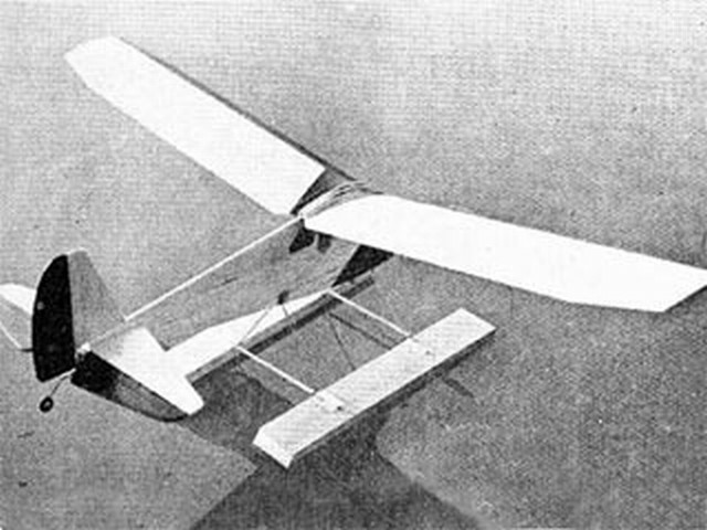 Profile Silvaire (oz8212) by Ted Strader from Model Airplane News 1957