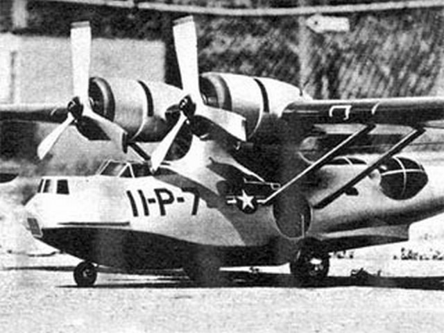 PBY Catalina (oz8213) by Paul Palanek from Model Airplane News 1958