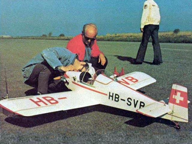 Druine Turbulent D31 Libelle (oz8216) by Franz Meier from RCMplans, Nekarverlag 1975