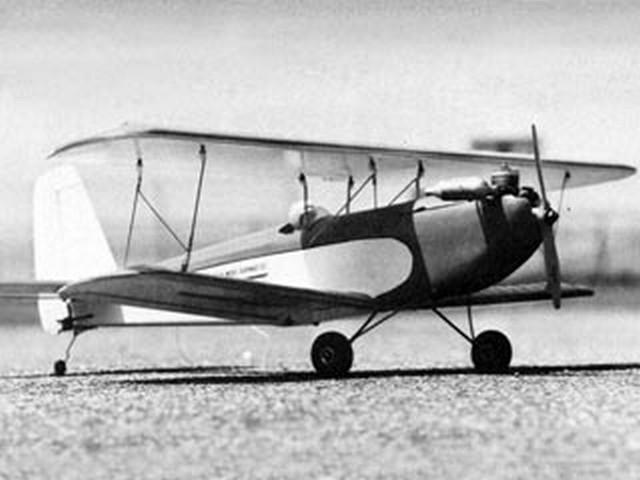 Wren (oz8217) by Norman Rosenstock from Flying Models 1976