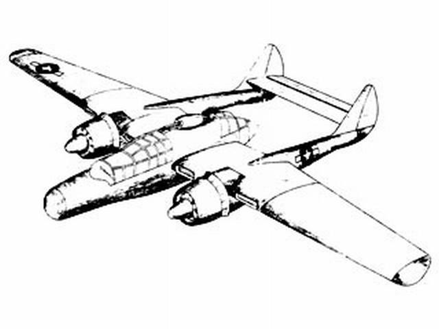 Northrop F-61 Black Widow (oz8218) from Eureka