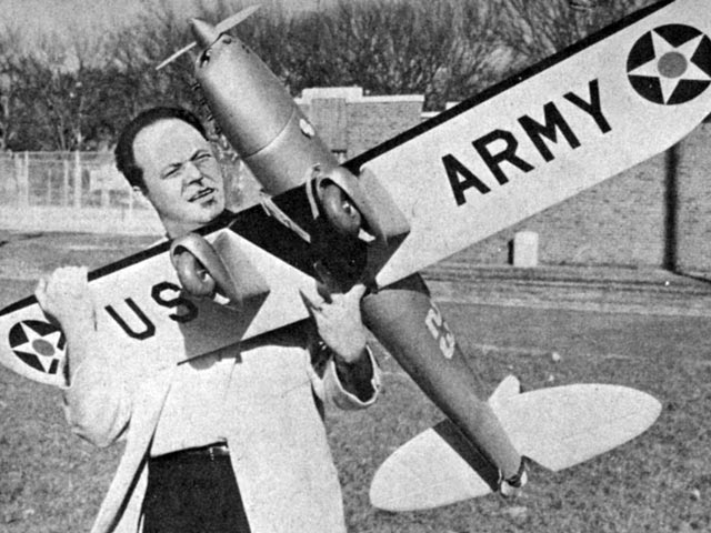 Ryan ST (oz8237) by Ted Strader from Model Airplane News 1960