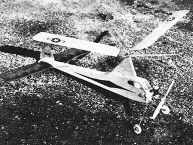 Gyrolator (oz8259) by Paul Del Gatto from Flying Models 1955