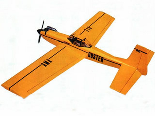 Duster (oz8275) by Bill Winter from Model Aviation 1999