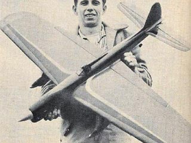 Lark (oz828) by Charles Mackey from Model Airplane News 1960
