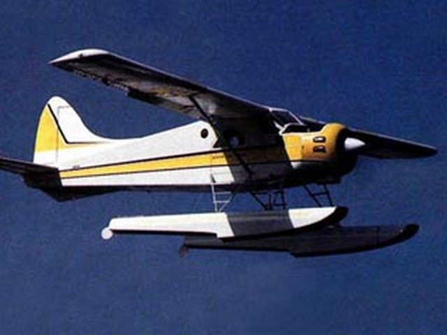 DHC-2 Beaver (oz8307) by Ed Westwood from Model Airplane News 1989