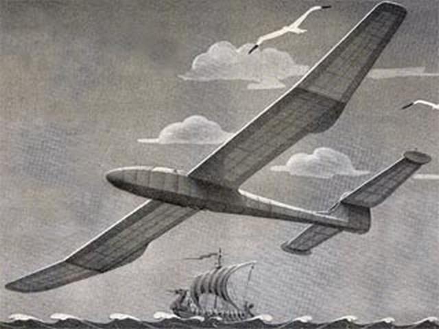 Nordic Tern (oz8394) by RFL Gosling from Aeromodeller 1950