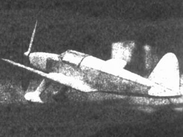 Aeroneer (oz840) by Herbert Spatz from Model Airplane News 1941