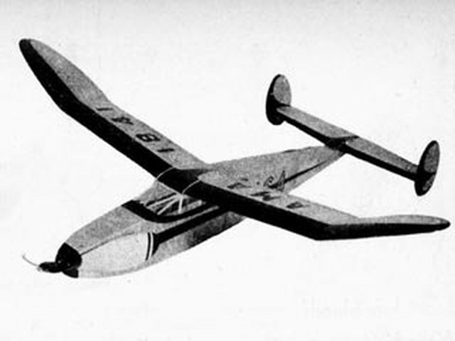 Thermal Chaser IV (oz8400) by Earl Cayton from Flying Models 1951