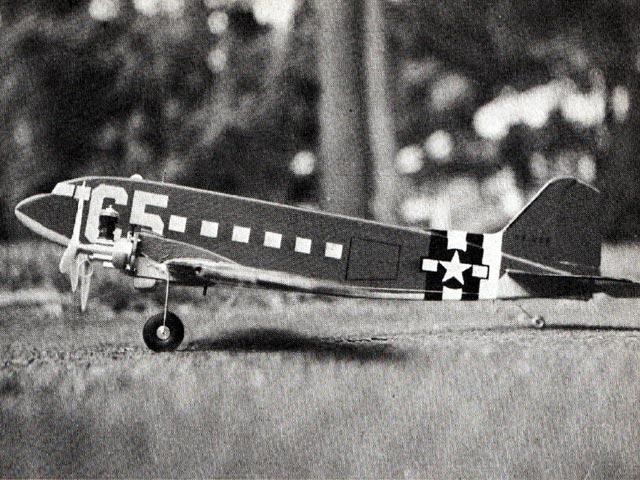 C-47 (oz8409) by Paul Schaaf from Model Airplane News 1969