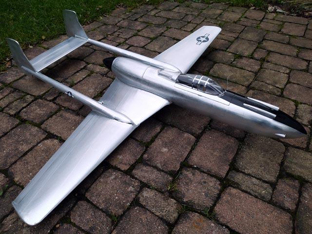Vultee XP-54 Swoose Goose (oz8422) by Jack Lynn Bale 1994