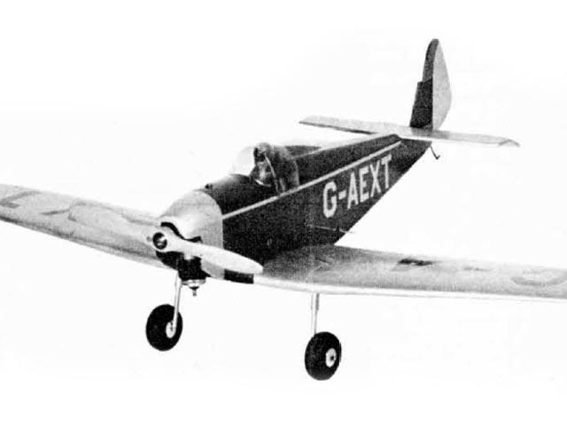 Dart Kitten (oz8426) by Paul Palanek from Air Trails 1952