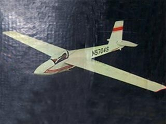 Schweizer 1-26D - completed model photo