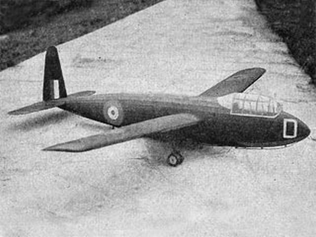 GA Hotspur II (oz8470) by Ron Warring from Aeromodeller 1942