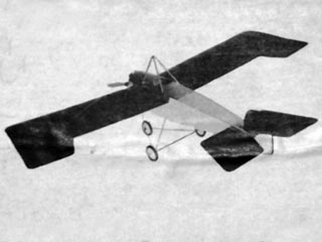 Lincoln Beachey Monoplane 1915 (oz8473) by Art Reiners from Peterson Products 1974