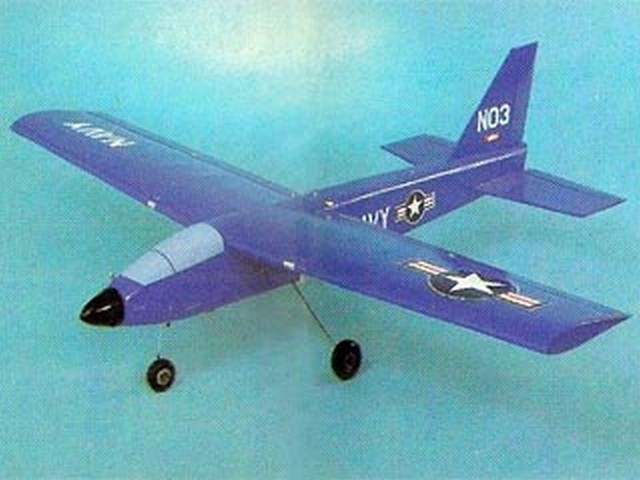 Jet-40 - completed model photo