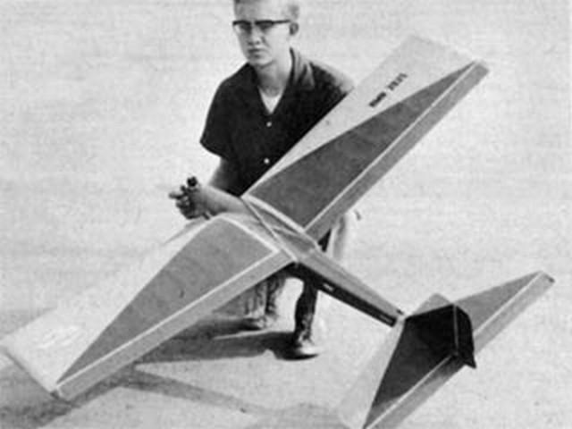 Nova (oz8517) by Jerry Nelson from American Modeler 1960