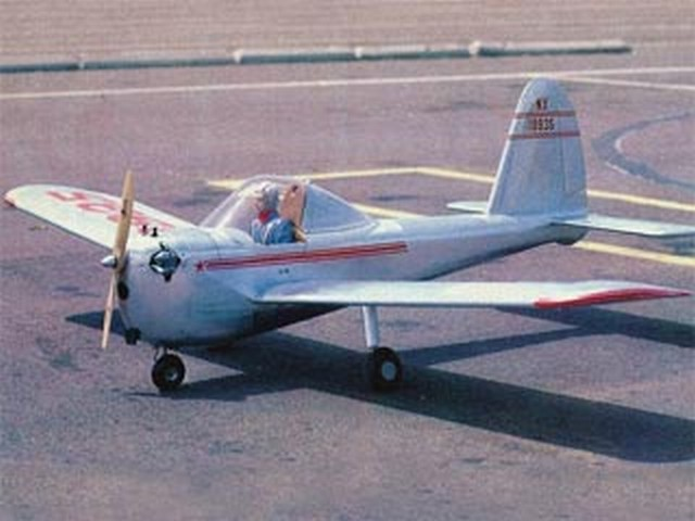 Lockheed Little Dipper (oz8546) by Dick Tichenor from RCMplans 1984