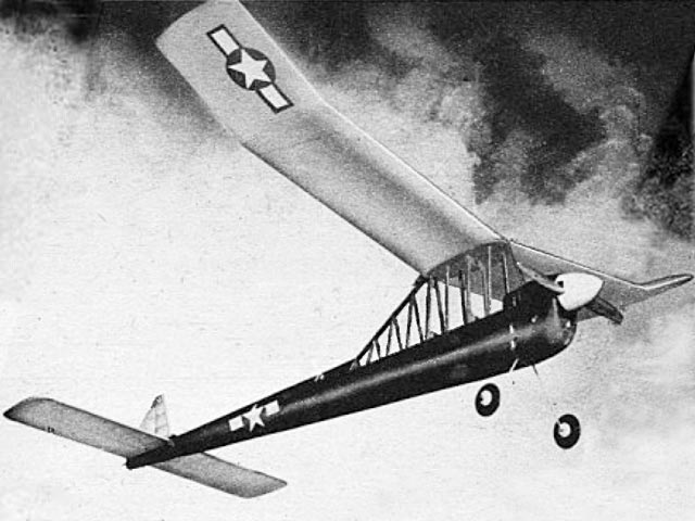Cabin Pylon (oz8548) by Alvin Andrighetti from Air Trails 1948