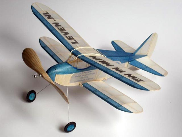 Biplane Sportster (oz856) by Lou Garami from Model Airplane News 1939