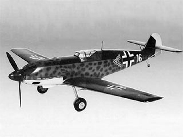 Messerschmitt Bf 109E-3 - completed model photo