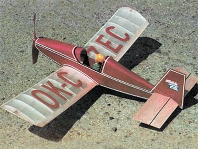 Czech Mate (oz8590) by Joe Johnson from Model Aviation 1982