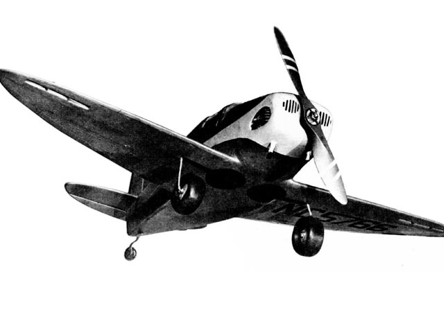 Culver Cadet (oz860) by Walt Schroder from Air Trails 1945
