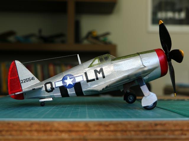 P-47D Thunderbolt (oz8605) by Gene Dubois from Gene Dubois Models 1976