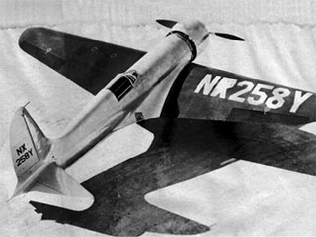 Hughes H-1 (oz8617) by JA deVries from Scale R/C Modeler 1976