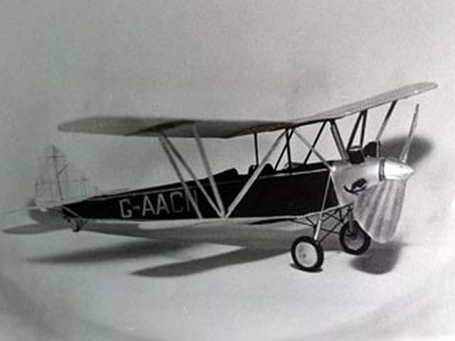 Handley Page Gugnunc - completed model photo
