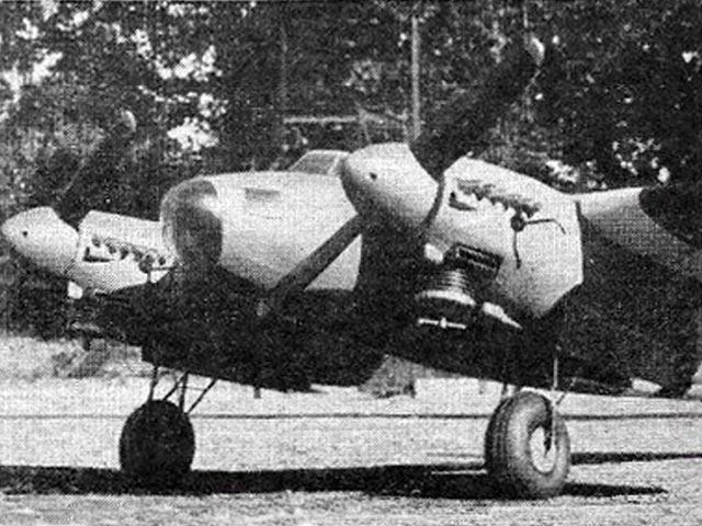 Mosquito (oz866) by Aeromodeller Staff from Aeromodeller 1954