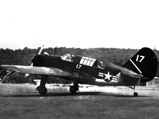 Curtiss SB2C-1 Helldiver (oz8664) by Paul Schaaf from American Aircraft Modeler 1971