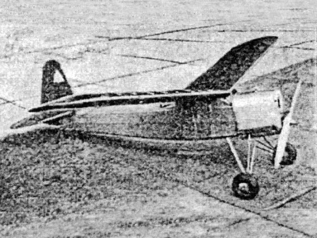 Scout (oz8665) by Barney Snyder from Modelcraft 1937