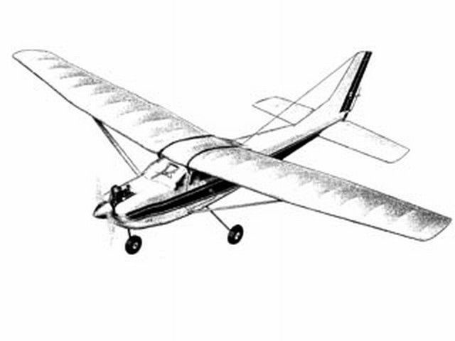 Cessna Skylane (oz868) by Carl Goldberg from Carl Goldberg 1964