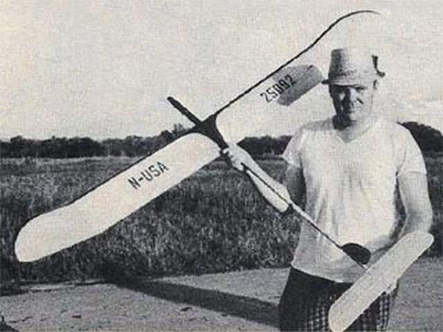 Hypodemic Nerdel (oz8695) by Dick Mathis, Tom Peadon from Flying Models 1967
