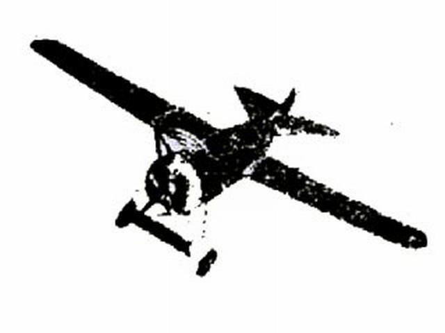 Fokker DVIII (oz8696) from Peerless