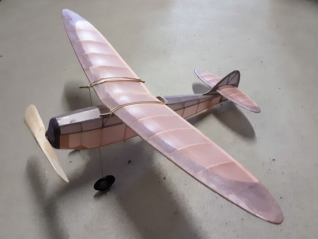 Cloudcraft Mercury - Cloud Model Aircraft - 1941 - 24in