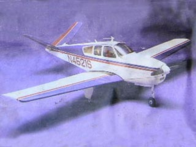 Bonanza - completed model photo